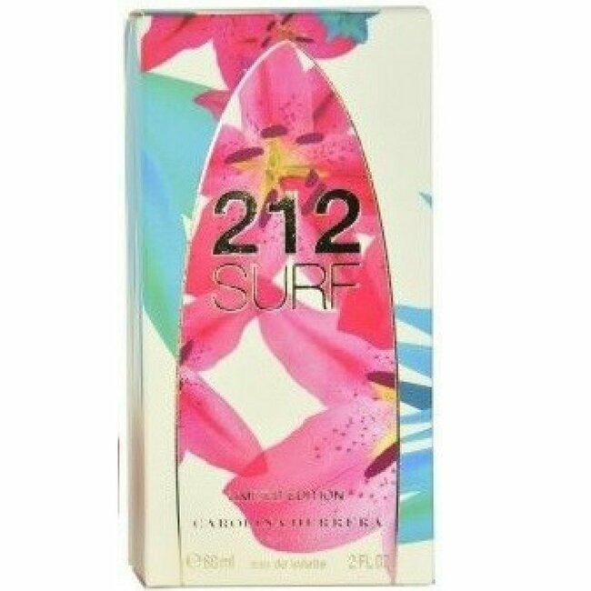 Carolina Herrera 212 Surf Ladies Eau De Toilette Spray (Limited Edition),2 oz