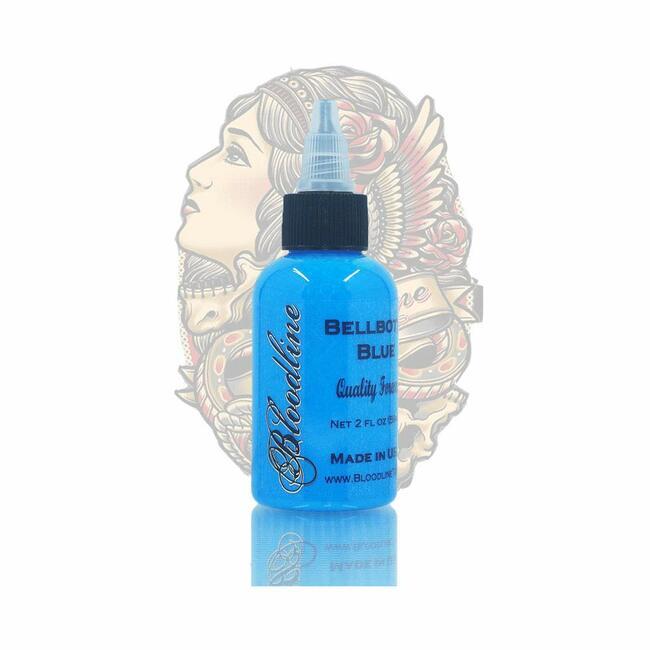 Skin Candy tattoo ink, bellbottom blue,1oz