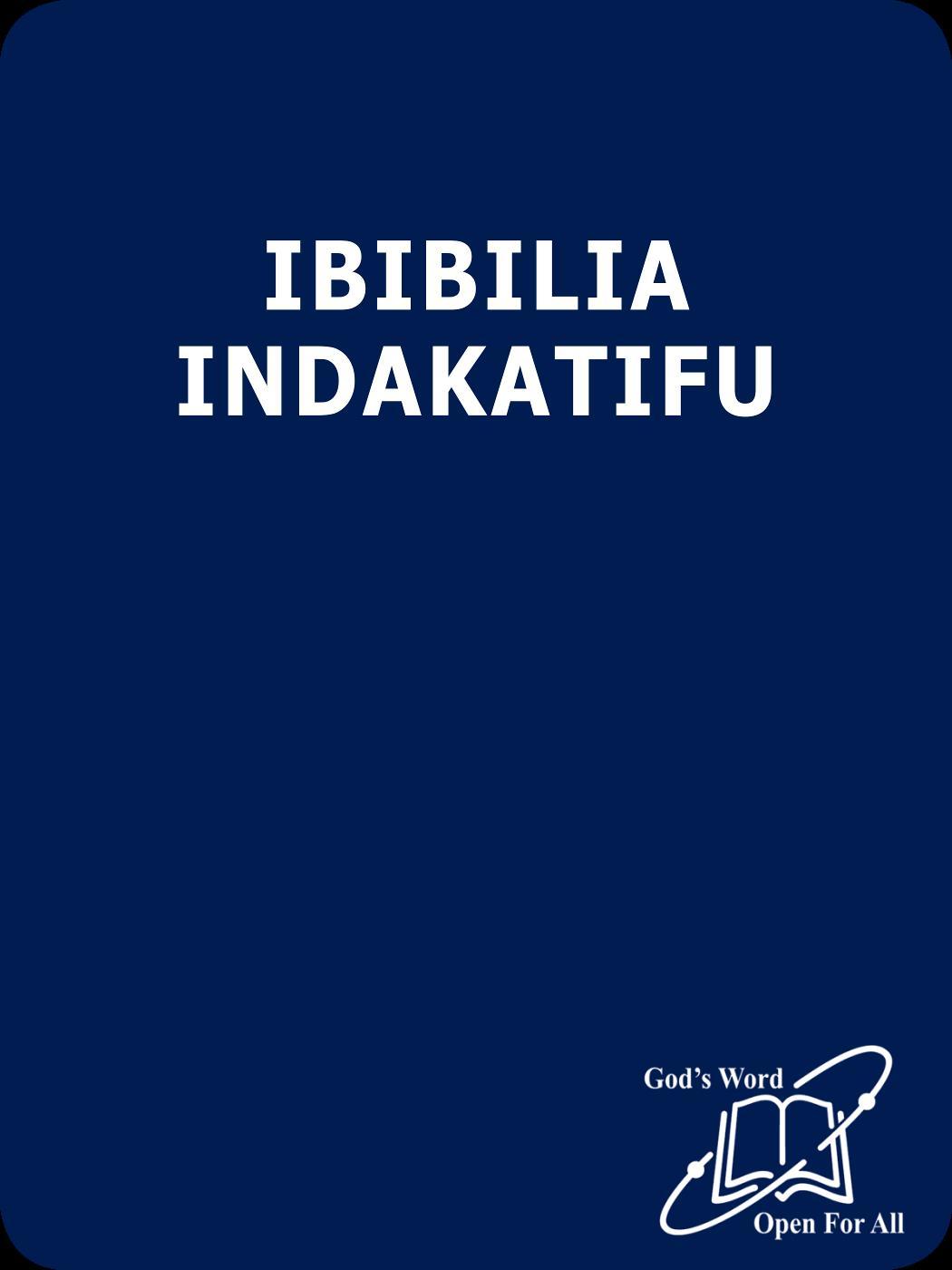 Oluluyia Bible