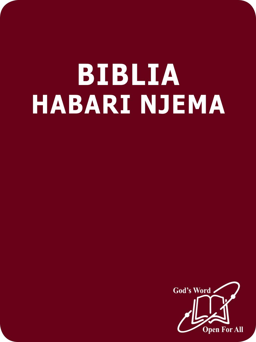 Swahili Habari Njema Bible