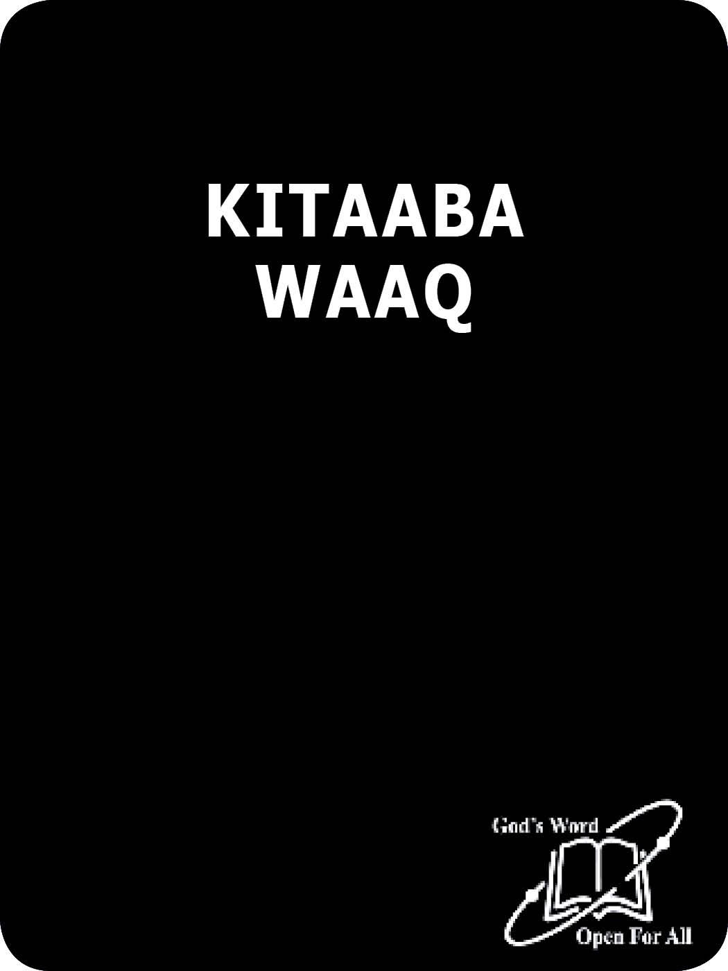 KITAABA WAAQA