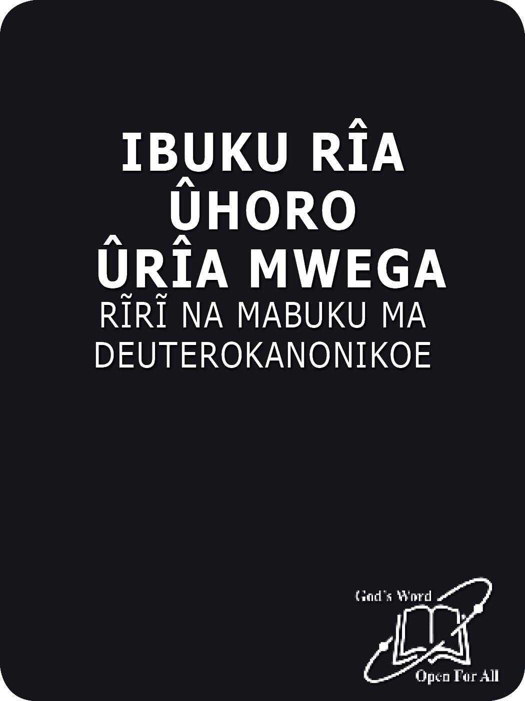 Gikuyu Common Language with DC