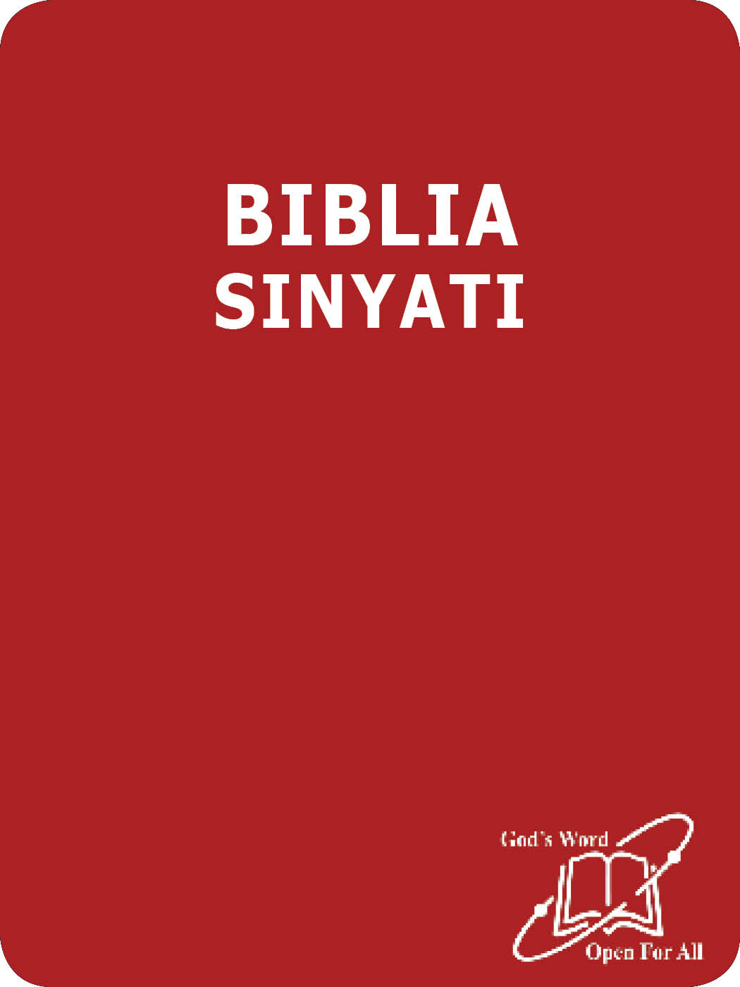 BIBLIA SINYATI TE NKUTUK OO LMAASAI NATISIRAKI ENG'EJUK NAATA MBUKUI E DITROKANONI