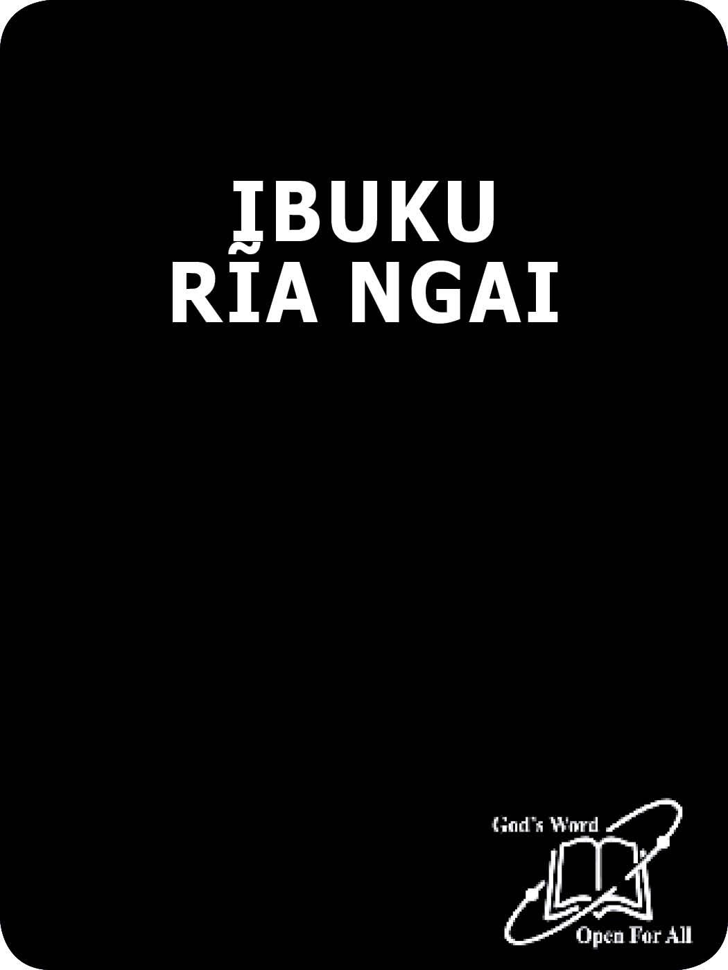 IBUKU RĨRĨA ITHERU RĨA NGAI