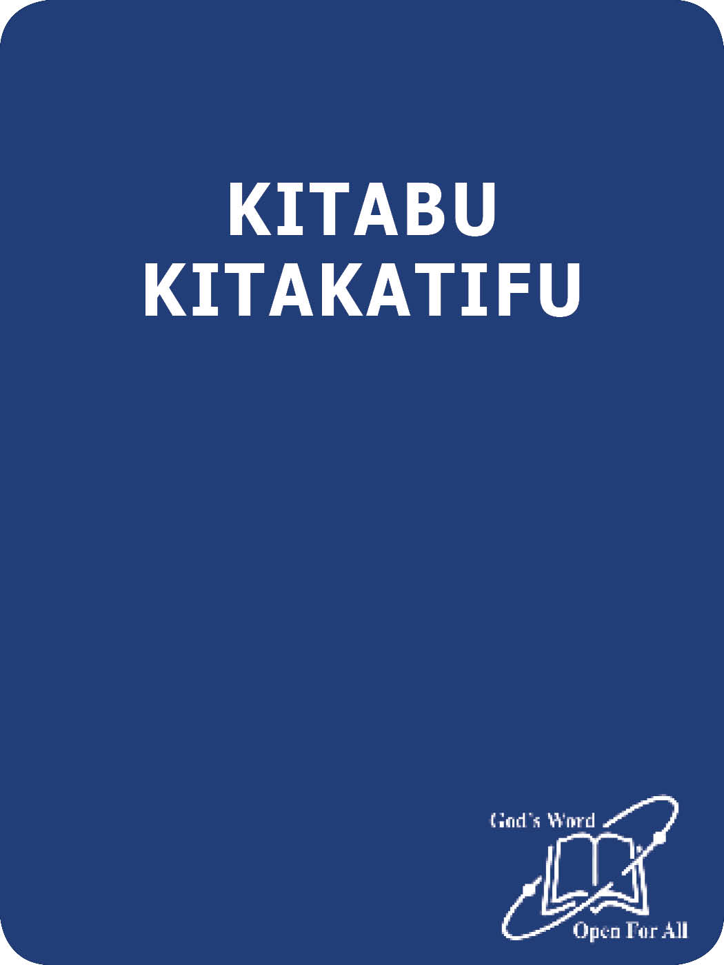 KITABU KITAKATIFU