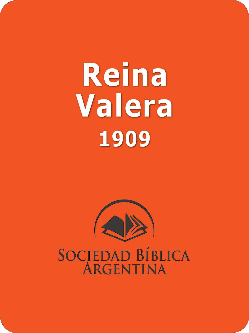 Reina Valera Bible 1909