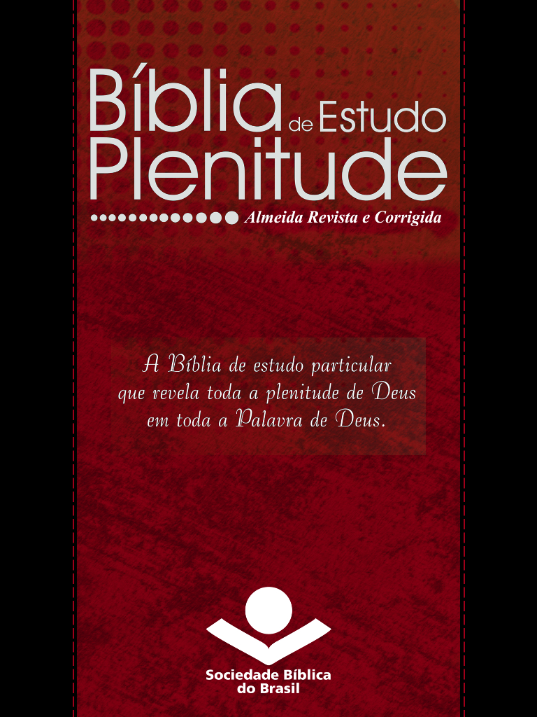 Bíblia de Estudo Plenitude ARC