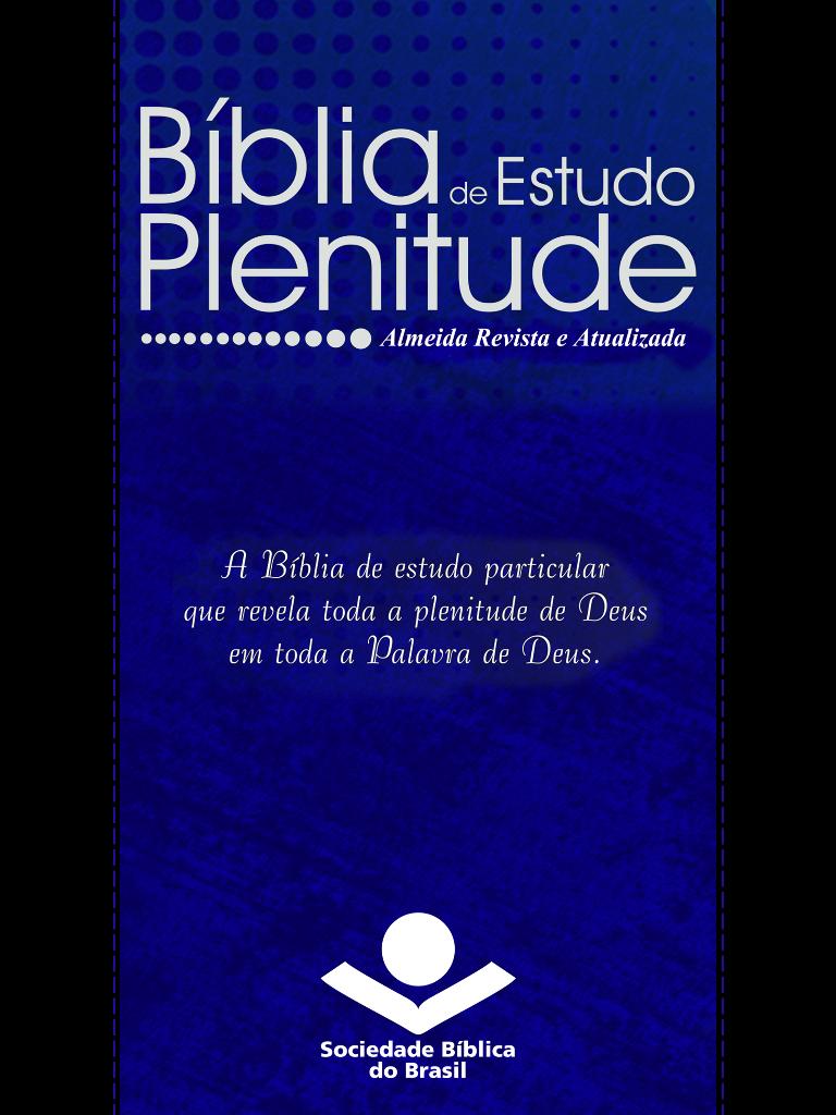Bíblia de Estudo Plenitude RA