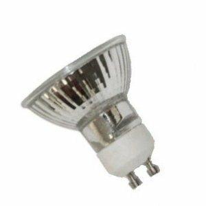 Anyray A1818Y (10)-Pack 25W GU10 Base 25 Watt Halogen Flood MR16 Light Bulbs 120V