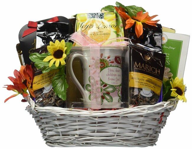 Gift Basket Village Just for You Gift Basket with Ceramic Daughter Mug