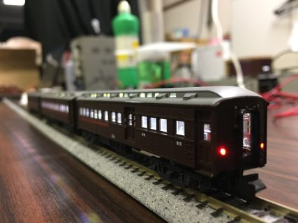 オハ31系急行列車の作製(その2)
