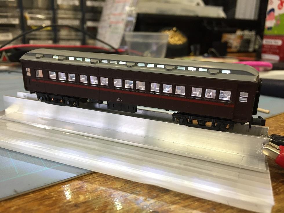 オハ31系急行列車の作製(その1)