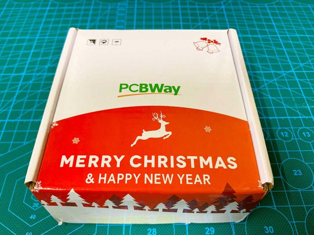 PCBWayに発注したらクリスマスプレゼントがついてきた