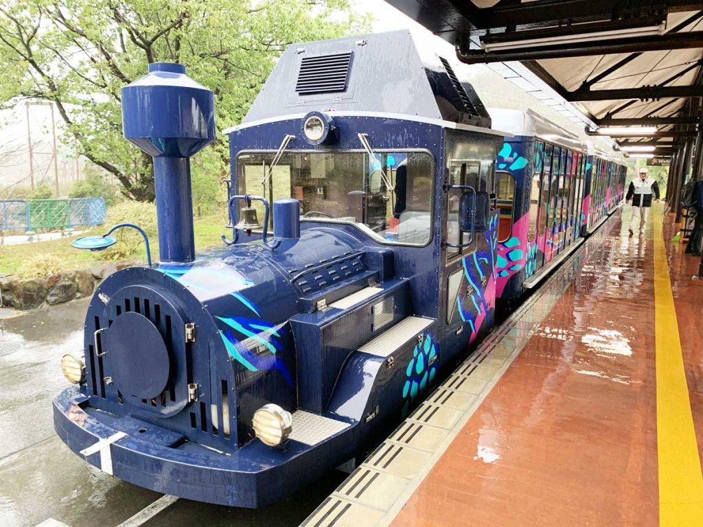 アドベンチャーワールド周遊列車 ケニア号に乗ってきた
