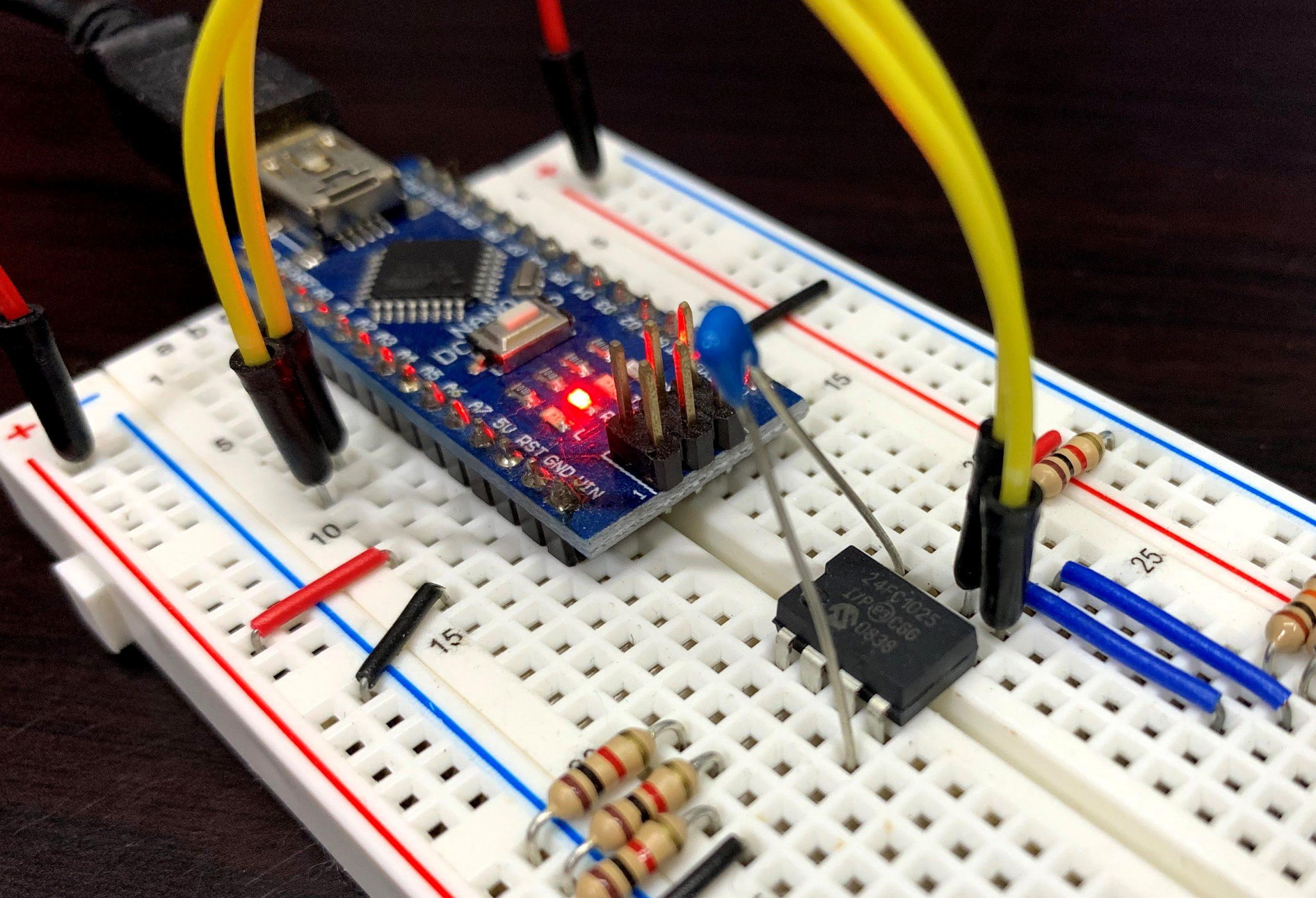 ArduinoでEEPROM(24FC1025)を使ってみる