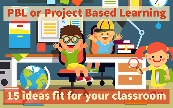 What is project-based learning? 15 PBL ideas fit for your