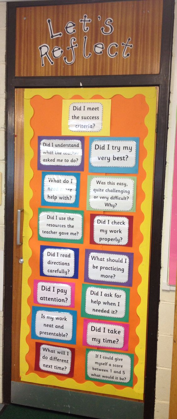 Self assessment ideas
