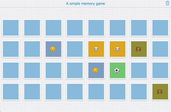 How to create memory games and pair matching exercises bookwidgets the more cards the more difficult the game is it can be played by yourself but better is to play it against each other solutioingenieria Choice Image
