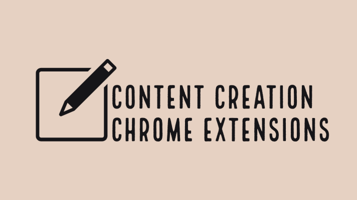 Content creation Chrome extensions for teachers