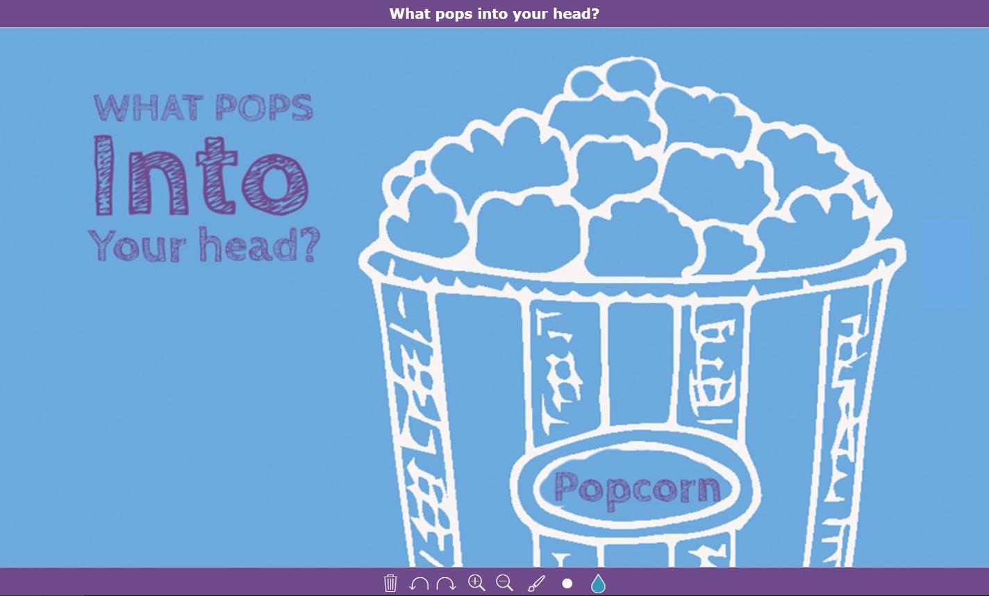 digital exit ticket - Popcorn