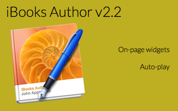 iBooks Author 2 2 brings us    on-page widgets! - BookWidgets