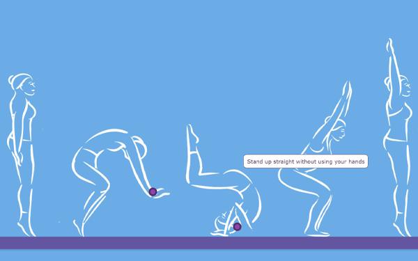 digital PE activity: somersault