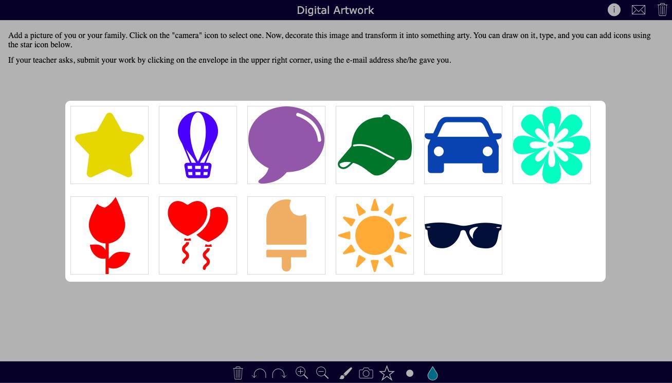 Digital artwork assignment