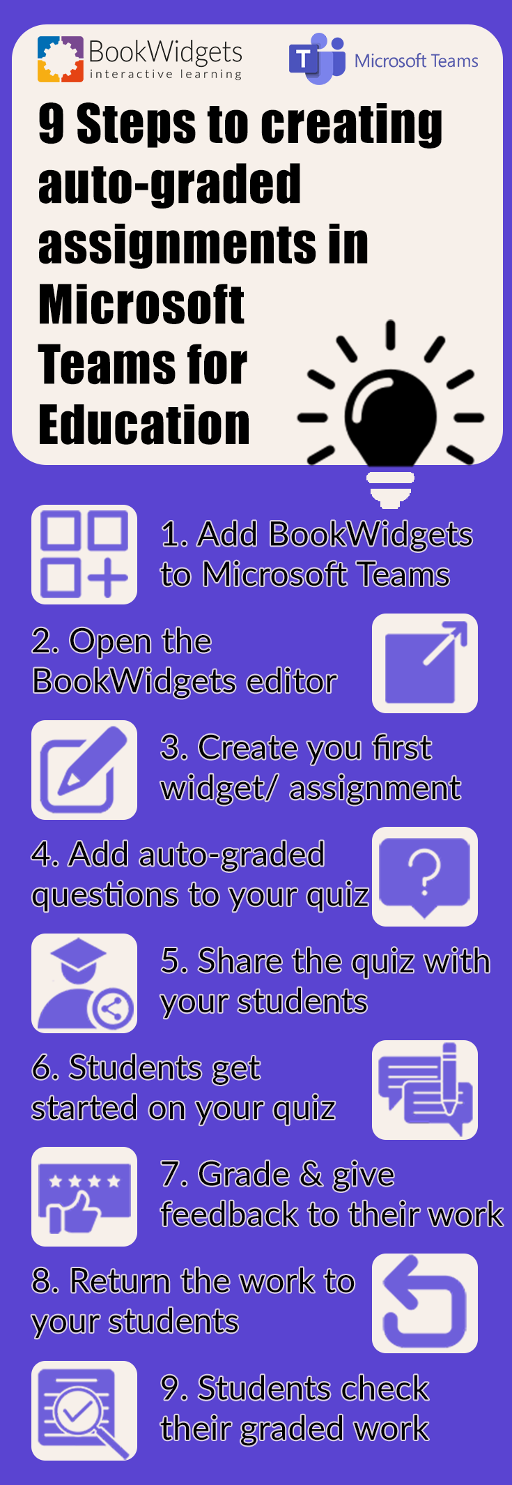 9 steps to creating auto-graded assignments in Microsoft Teams for education