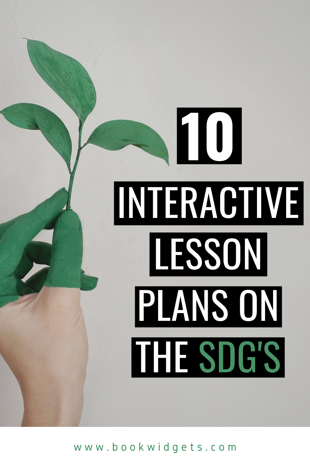 ready-to-use lesson plans on SDG's