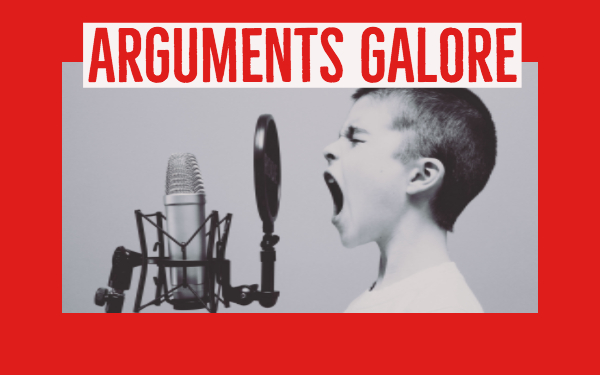 Arguments galore in the classroom