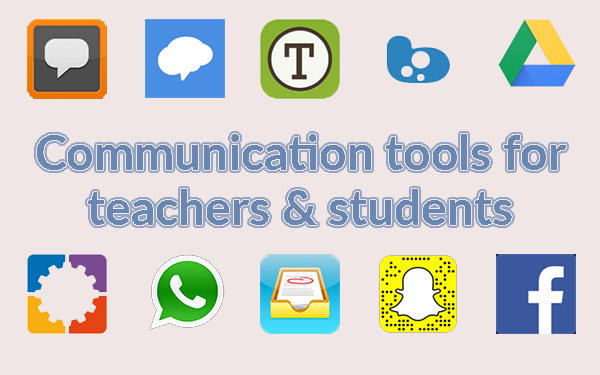 communication tools for teachers and students