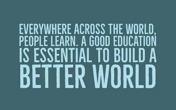 Quote about global learning