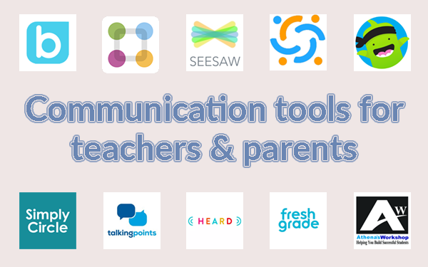 Communication tools for teachers and parents