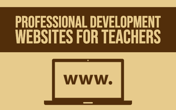 Professional development websites for teachers