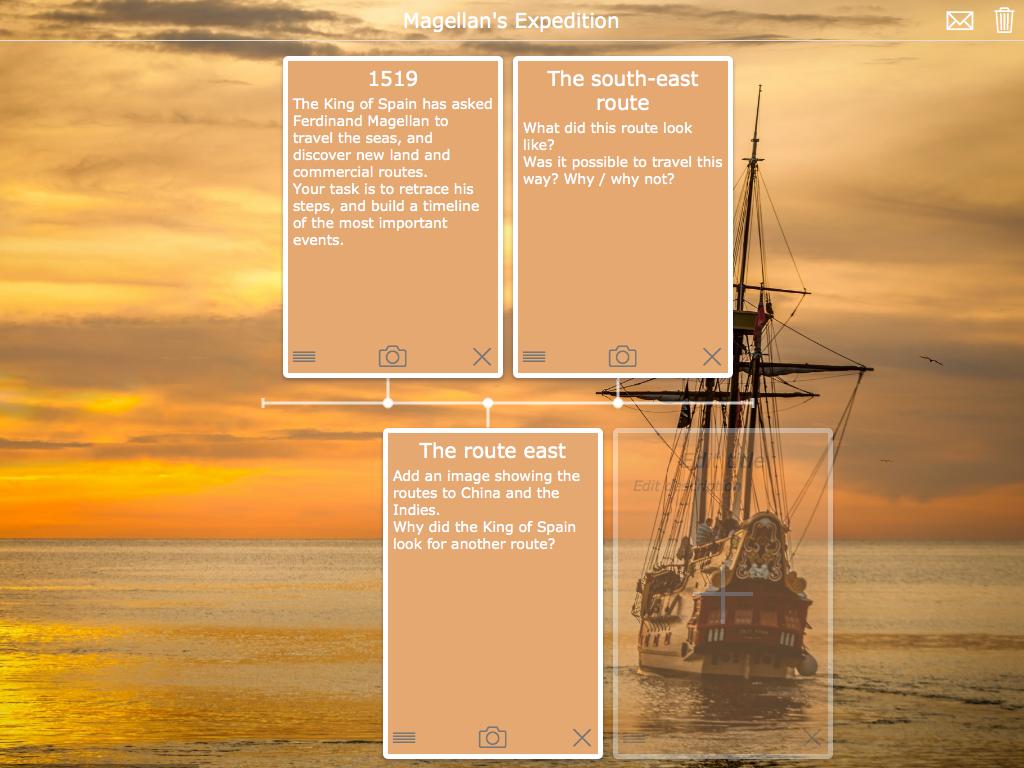 editable timeline exercise