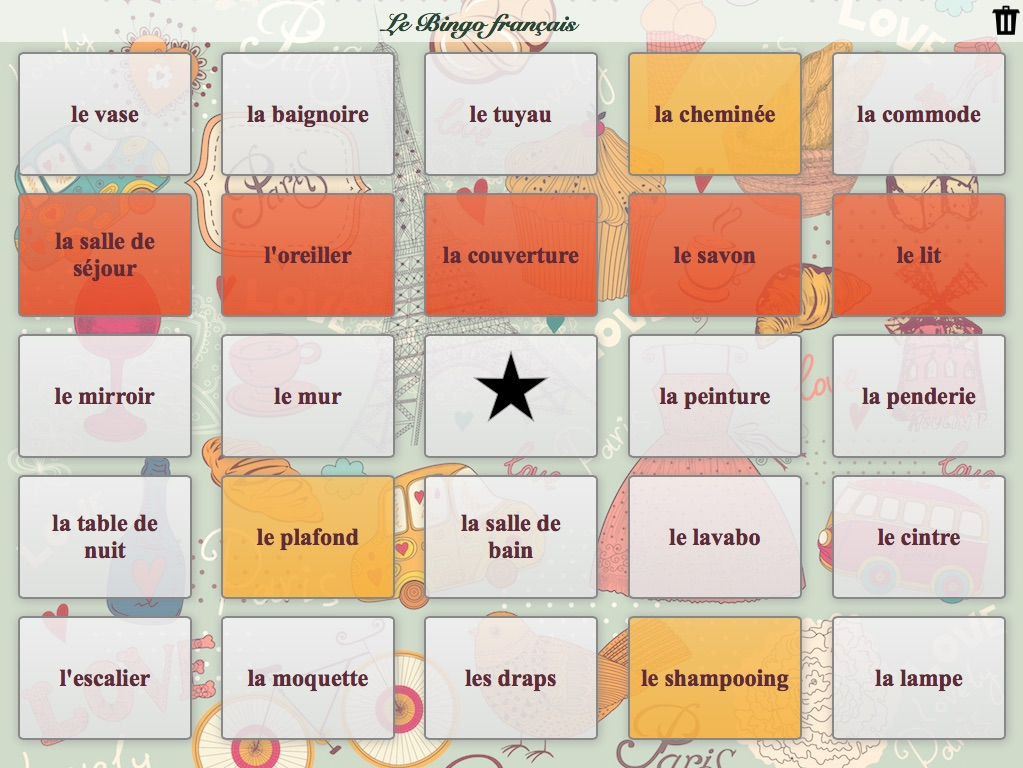 Fun classroom activity bingo bookwidgets language bingo urtaz Choice Image