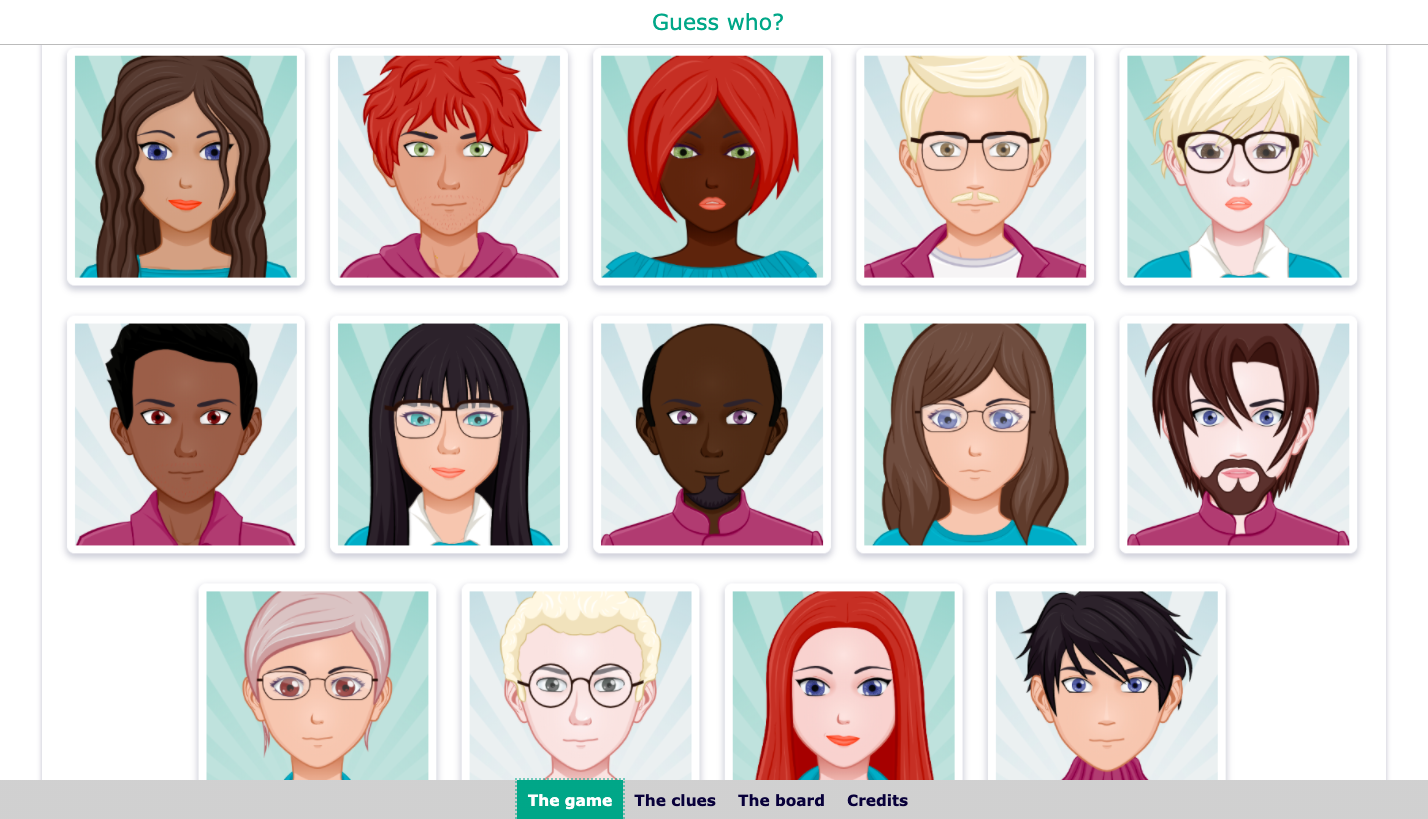 digital guess who game