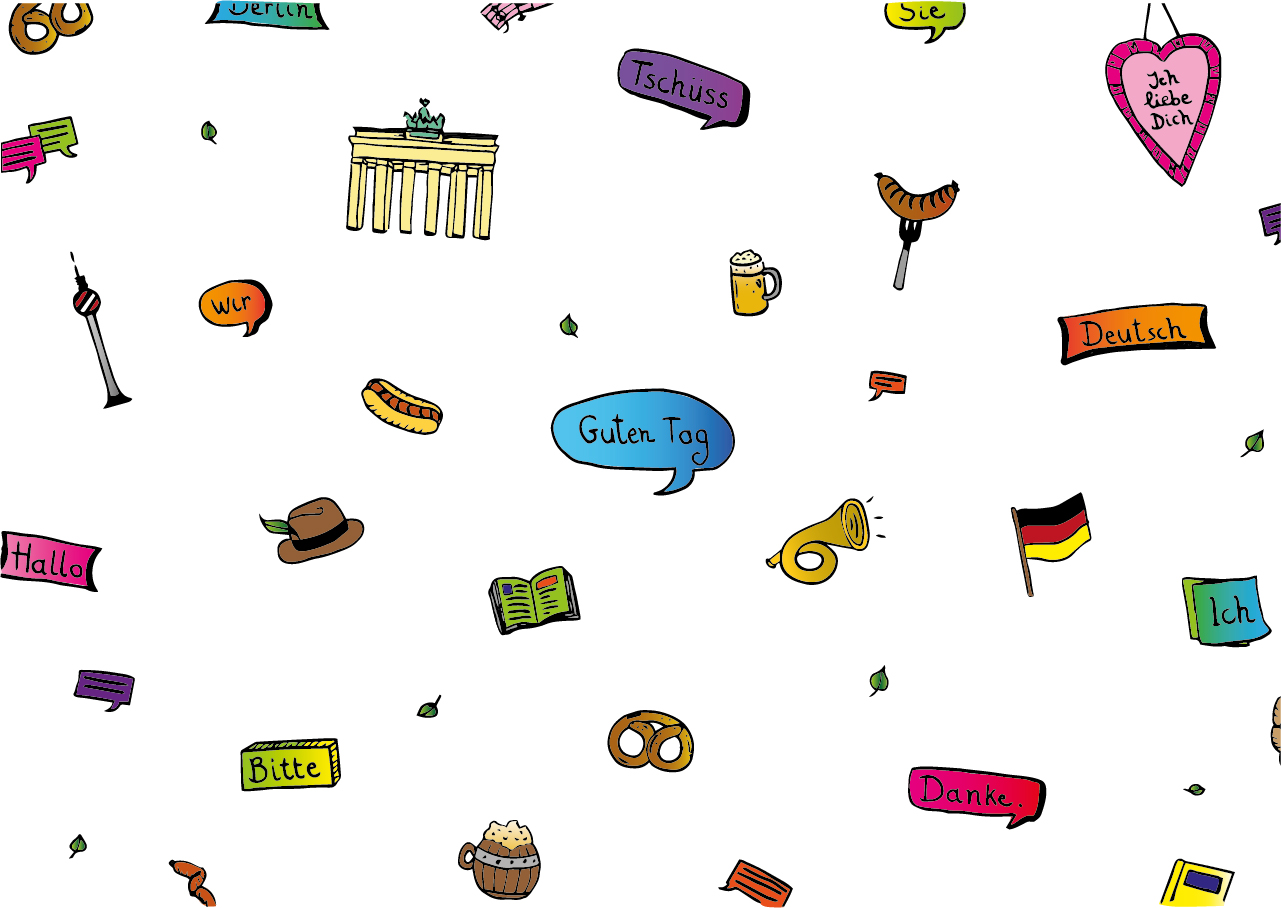 Lesson background image for German