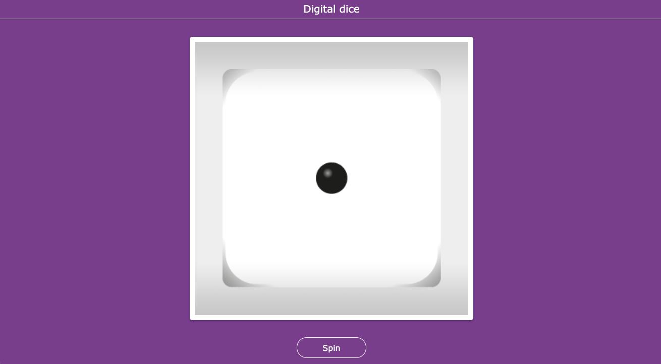 Digital Dice