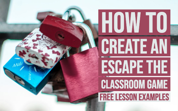 How To Create An Escape The Classroom Game Free Lesson Examples Bookwidgets