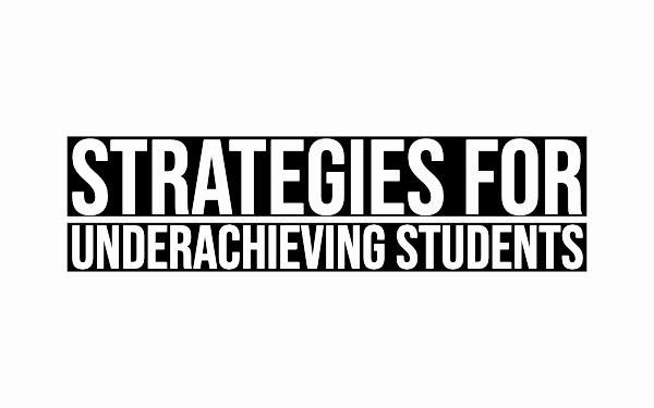 strategies for underachieving students