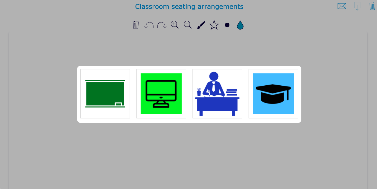 Create your own classroom seating arrangement