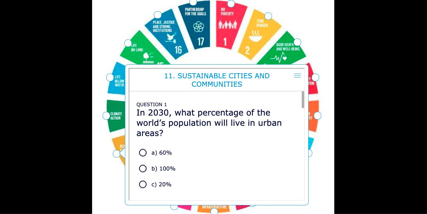 Digital game of Go Goals - SDG's