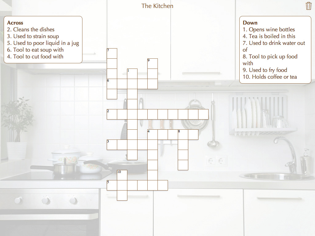 The Kitchen Crossword