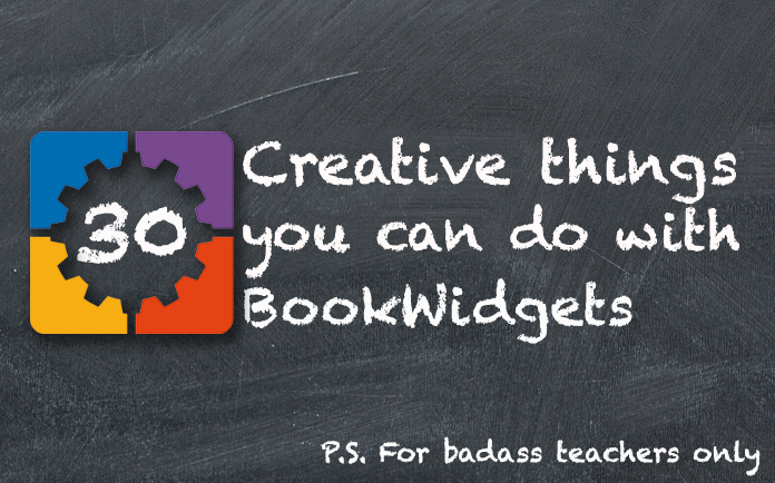 30 Creative Things You Can Do With BookWidgets