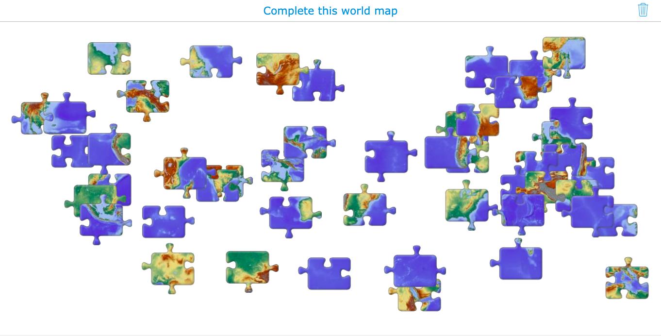 jigsaw puzzle widget