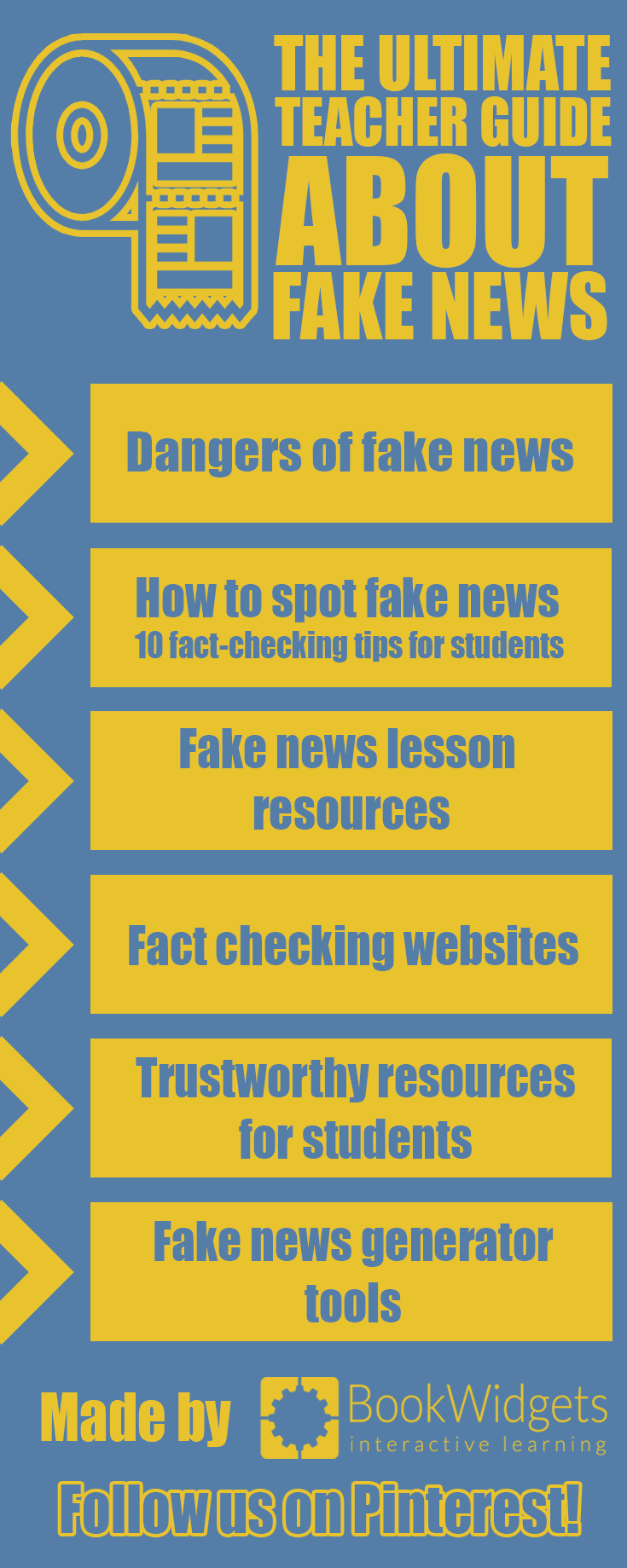The ultimate teacher guide about Fake news