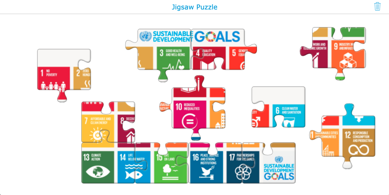 Sustainable Development Goals Jigsaw puzzle
