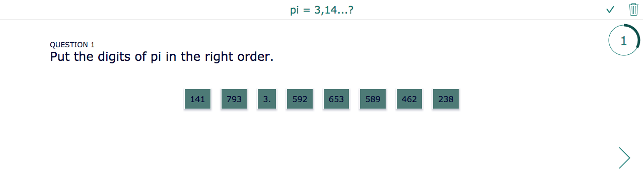 Pi Day Digits quiz