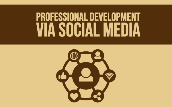 Professional development for teachers via Social Media